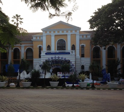 Old Lycum (Medical college) building, now the IFFI office