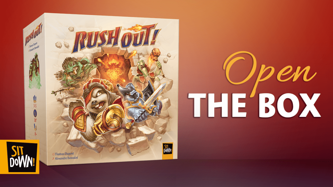 Rush Out! - Open The Box!