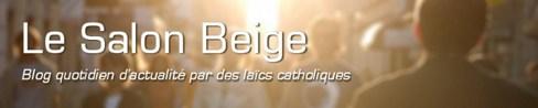 Salon Beige Catholique