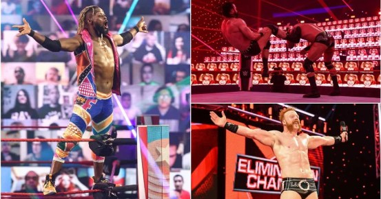 WWE RAW results: Shocking title change, candidate eliminated for Elimination Chamber and more