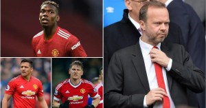 The signatures of Manchester United under the leadership of Ed Woodward were ranked after his resignation