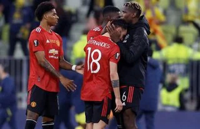 Bruno Fernandes was in tears after Man United lost the Europa League