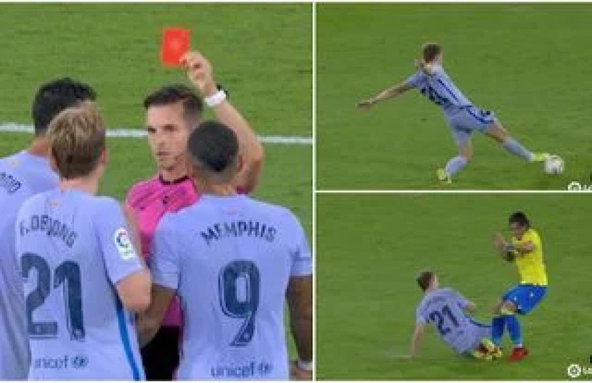 Was it a harsh call by the referee?