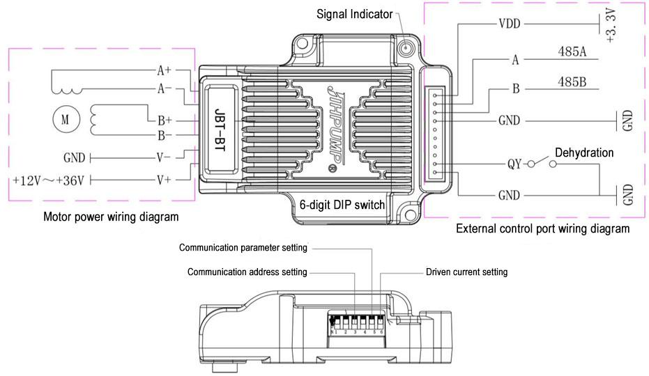 57 Stepper motor micro controller