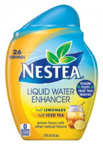 Nestea's Liquid Water Enhancer - image courtesy of bevnet.com