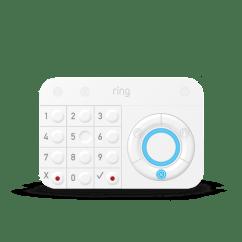 System Sensor Smoke Detector Wiring Diagram Mitsubishi Mirage 98 Radio Home Alarm 5 Piece Smart Security Ring Systemnew
