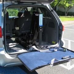 Handicap Shower Chairs Burlap Chair Sash 07 Toyota Sienna Le W\ Platform Lift
