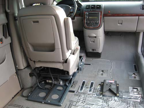 jazzy power chairs couture chair covers glasgow 07 buick terraza cxl w\ amerivan conv.