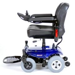 Power Chairs Wheelchair Manual Cobalt Travel Cobaltbl16fs Drive Medical