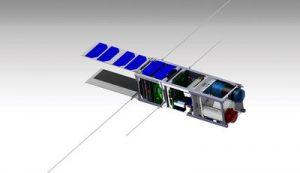 Vue CAO du satellite