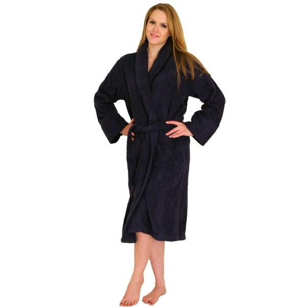 Bathrobe Terry Cloth Terrycloth Bath Robe - 29.99 Women 100 Cotton