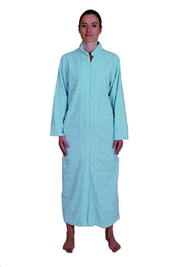 Tall Women Zipper Robes Floor Length - Carpet Vidalondon