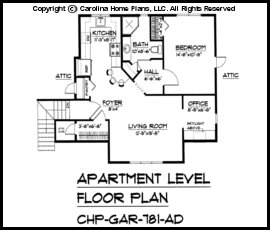 Gar 781 Floor Plan