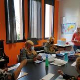 Sylviane / Apprentissage de l'écriture et de la lecture