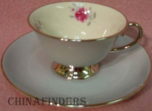 GORHAM china MIRAMAR Cup Saucer Set eBay