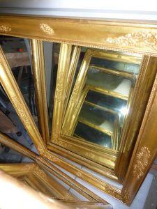 miroirs en stuc XIXème