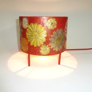 lampe rouge