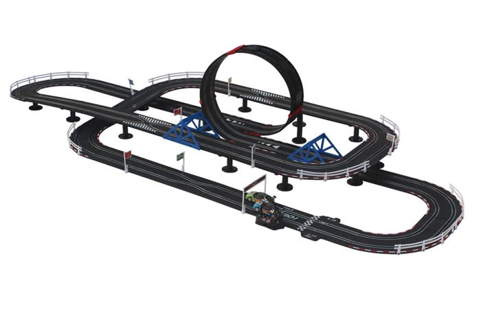 Top-Racer AGM TR08 Slot Car Sets , Slot Track, Remote
