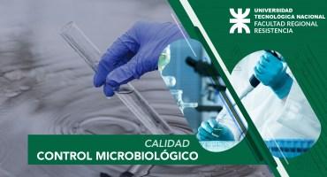 Cursos UTN - C - Control microbiológico del agua