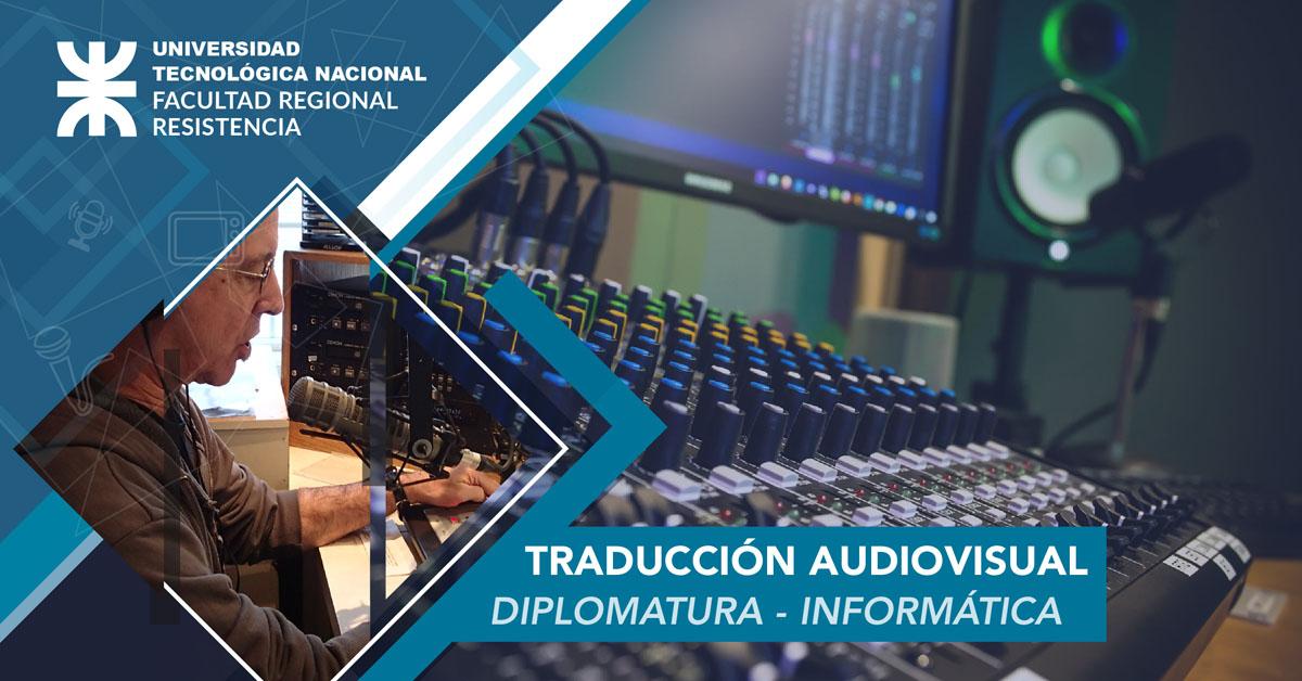 Diplomatura en Traducción Audiovisual