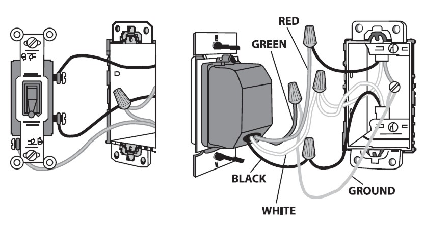 auto off manual switch diagram