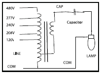 Wiring Diagram For Metal Halide Ballast