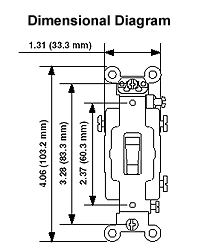 15 Amp Toggle Switch 3-Way Light Switch Wiring Diagram
