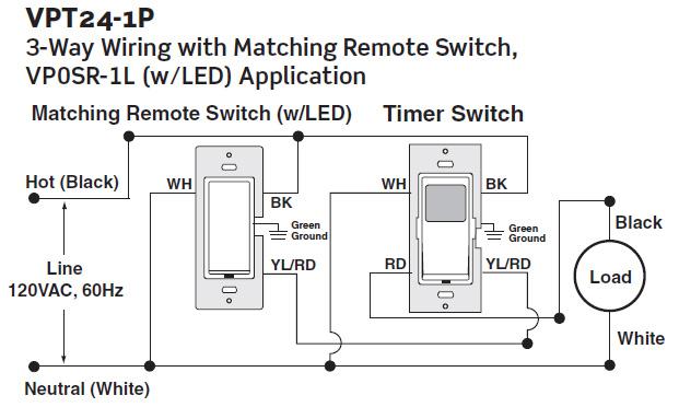 leviton decora three way switch wiring diagram 1964 ford falcon ignition dimmer and schematics vpt24 1pz vizia 24 hour timer 120vac 60hz 1800w combination
