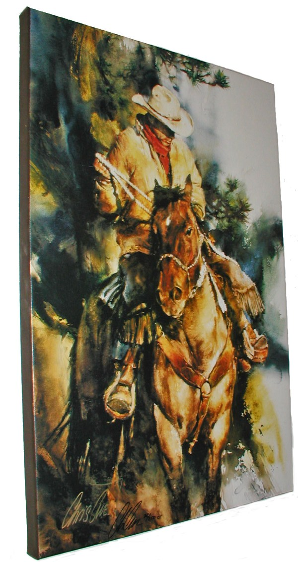 Wrapped Horse And Western Canvas Art Prints