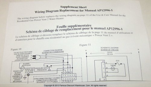small resolution of sp20161a rheem gas control thermostat kit ng rheem furnace wiring schematic