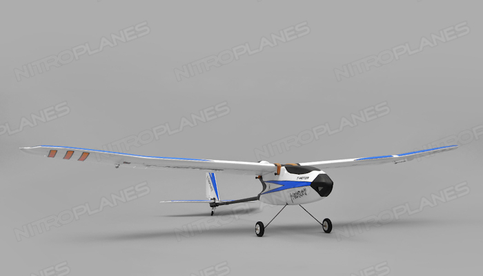 Tech One Hobby Mercury Trainer 4channel Ready to Fly 2