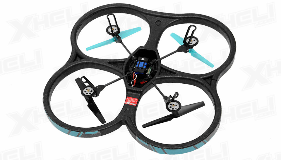Hero RC XQ-5 V626 UFO Drone with Camera 4 Channel 6 Axis