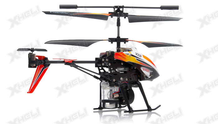 New V319 3.5 Channel Water Spraying RC Helicopter RTF with
