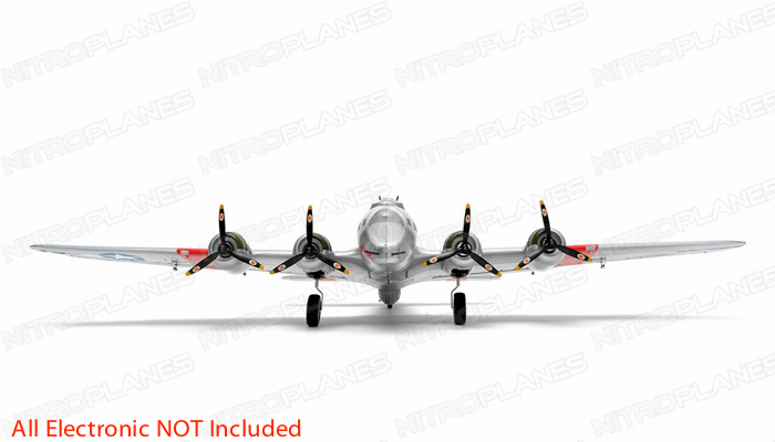 NEW 7 Channel AirWingRC B-17 Bomber 63