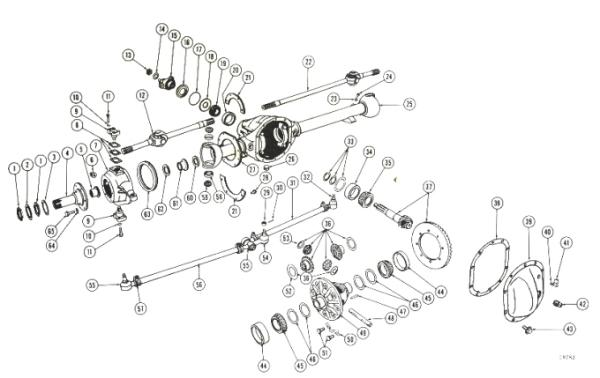 Willys Jeep Parts Diagrams & Illustrations from Midwest