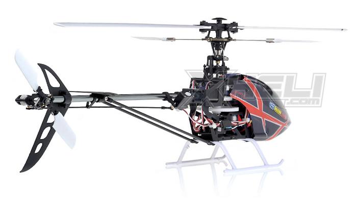 New Art Tech RC Perfect 3D 6 Channel 400 Class Falcon CCPM