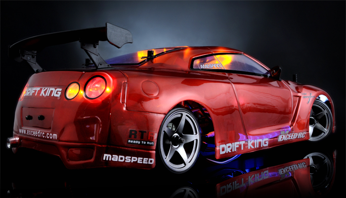 Exceed RC Drift King Brushless - Red (Click Picture to View Purchase Details)