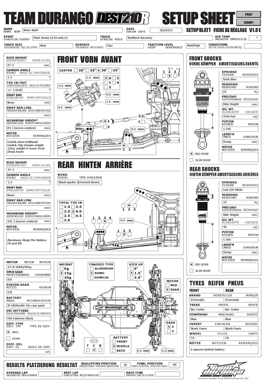 hight resolution of team durango desc210r brian bush redneck raceway nov 2012 ford econoline e350 fuse diagram 94 e350