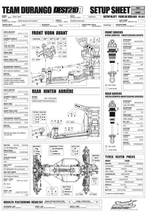 small resolution of team durango desc210r brian bush redneck raceway nov 2012 ford econoline e350 fuse diagram 94 e350