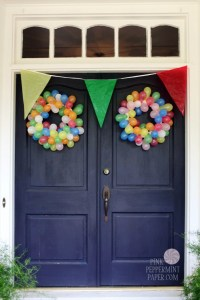 Clowning Around First Birthday | Pink Peppermint, the blog