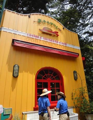 ghibli museum cafe1 A História do Museu Ghibli e seus 12 anos de Funcionamento