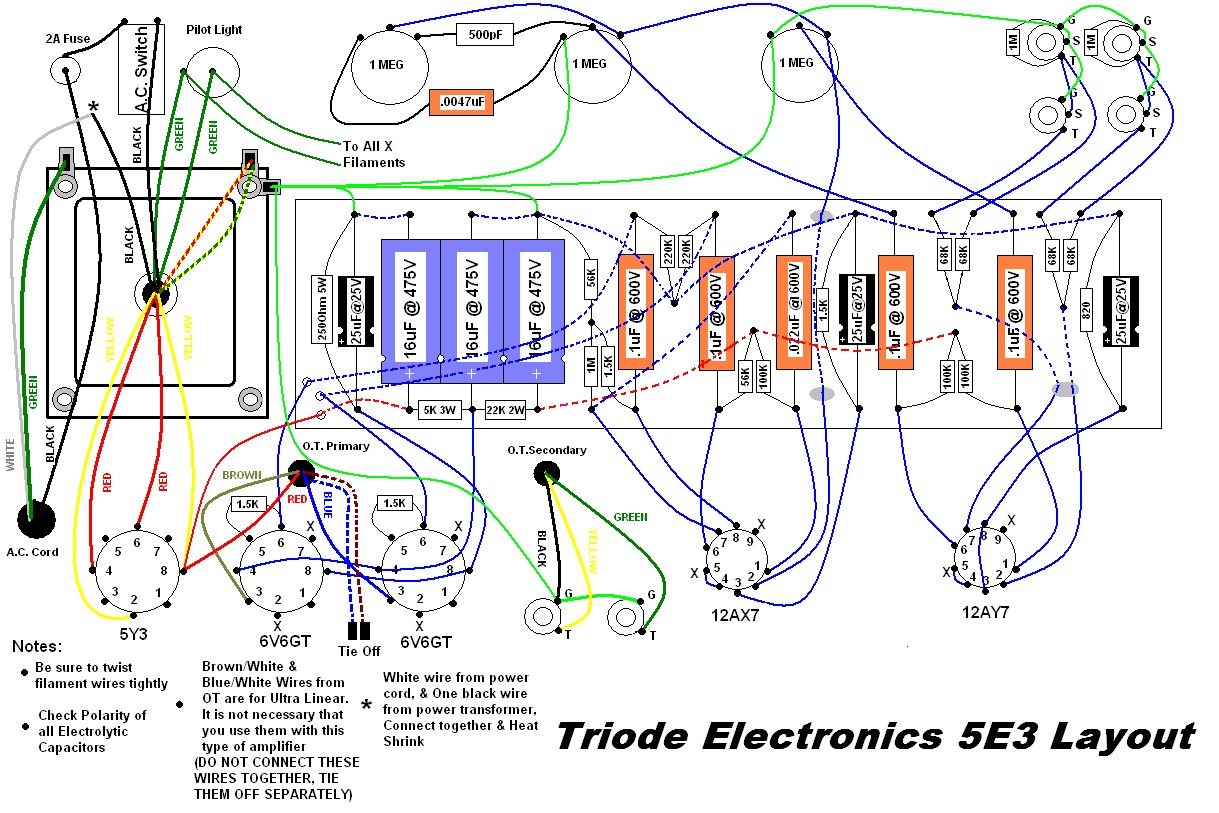 hight resolution of 5e3 turret board wiring