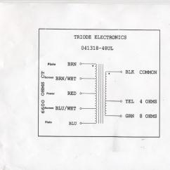 8 Ohm Wiring Diagram Vw Diagrams Output Tramsformer 4 16 Trusted