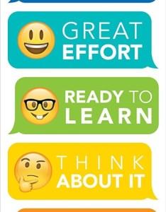 also creative teaching press ctp emoji fun desktop behavior clip charts rh products unbeatablesale