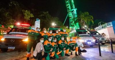 Unimed Litoral comemora 29 anos e apresenta novas ambulâncias à população