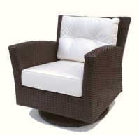 Outdoor Wicker Swivel Chair