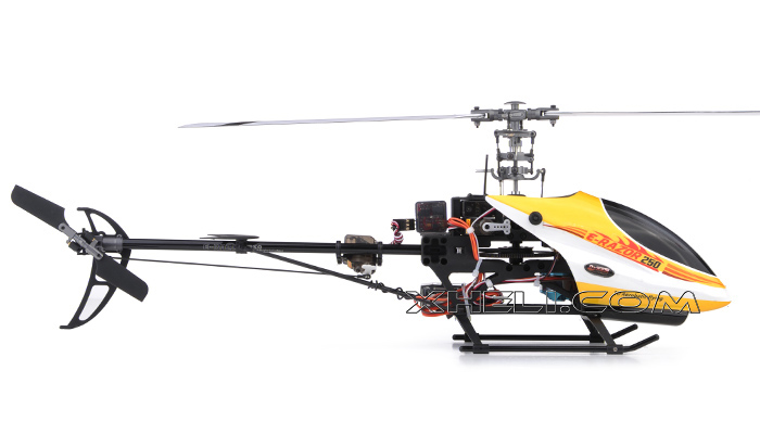 New!! 2.4Ghz Dynam E-Razor 250 Pro Ready-to-Fly w/ CNC