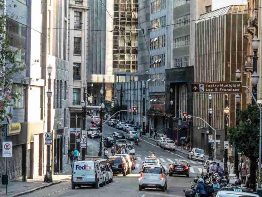 rua com zona azul digital em sao paulo