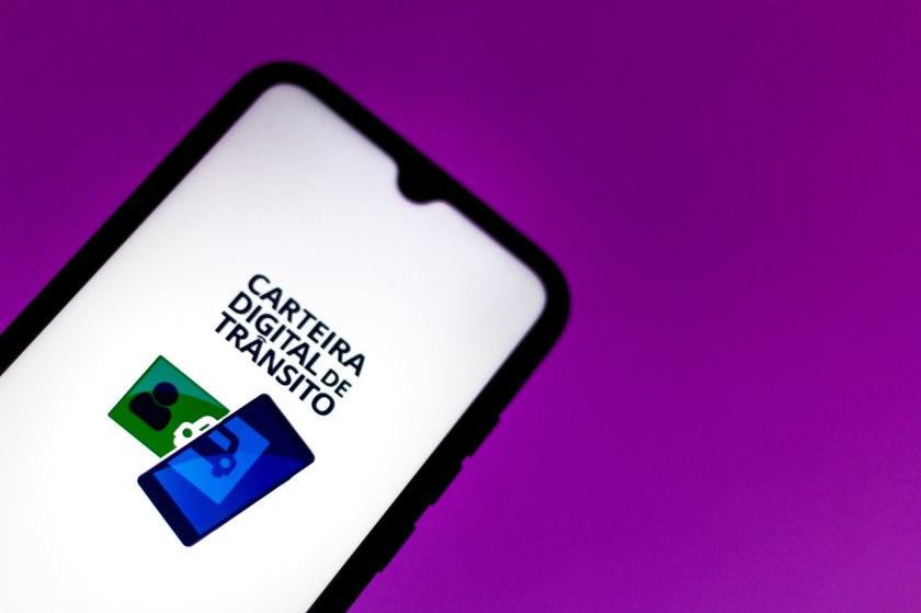 app carteira digital de transito