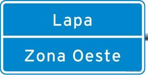 placa de sinalização de local